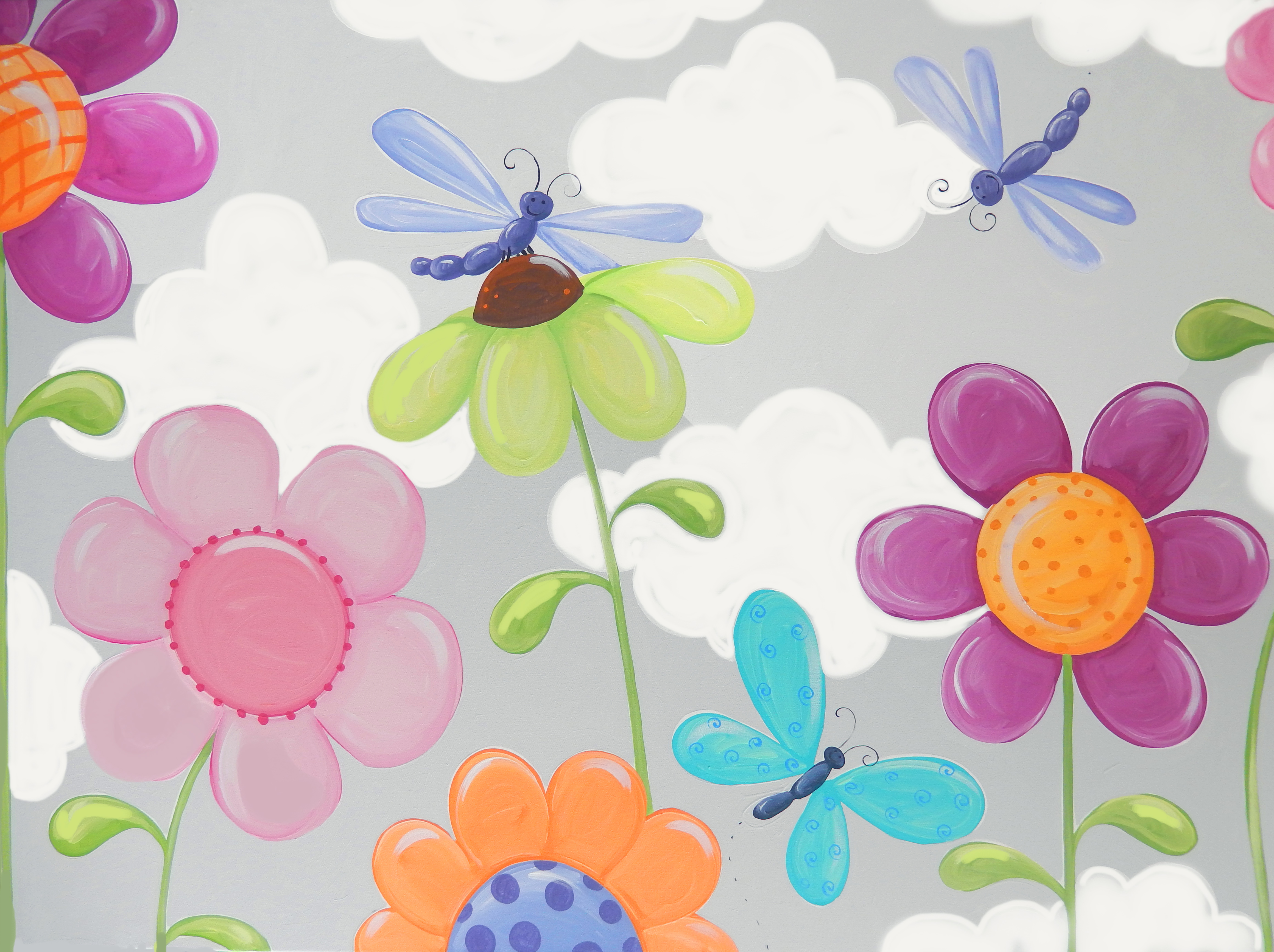 Portfolios archive page 12 of 15 susy bee for Bright flower painting