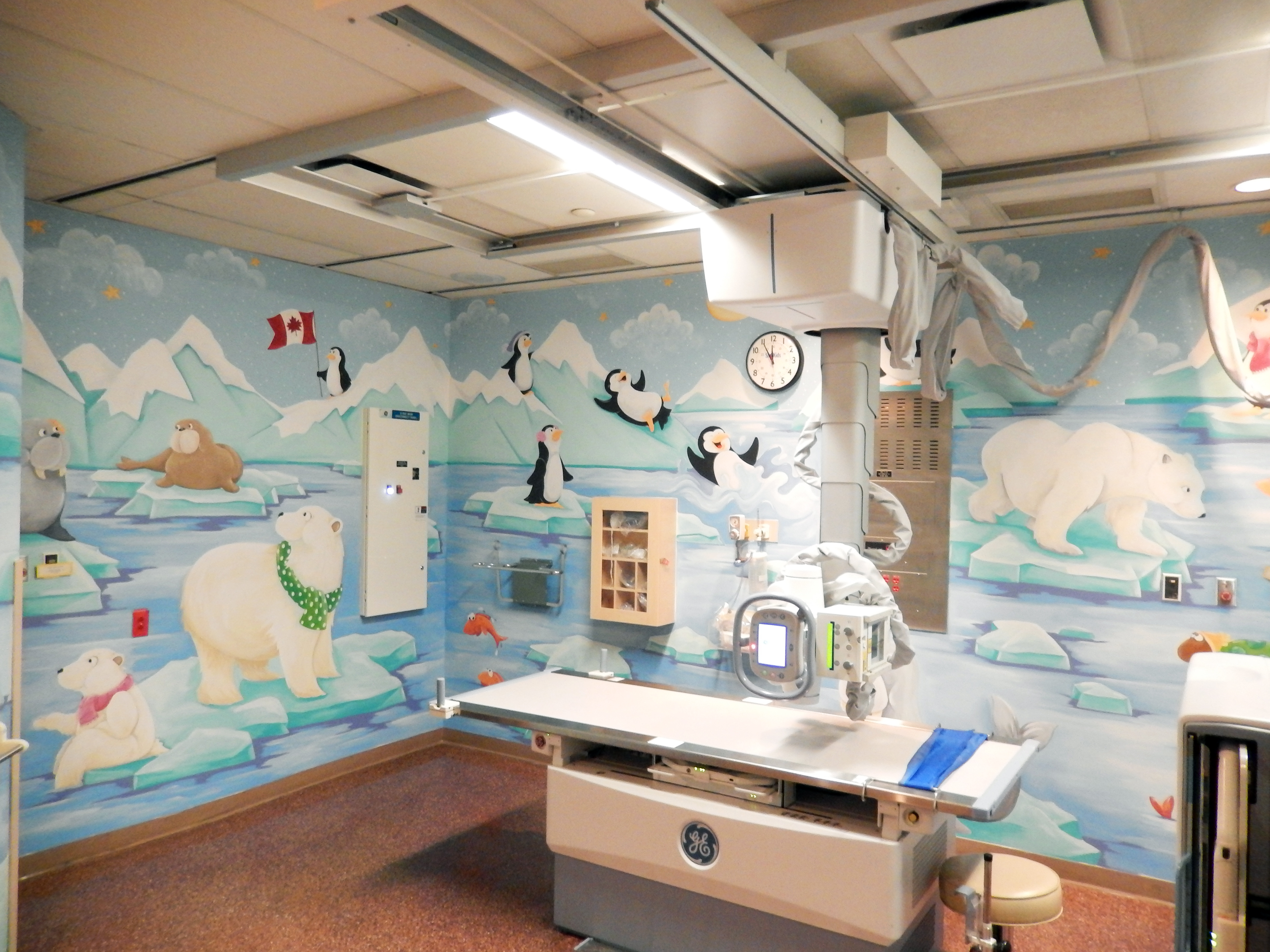 Sick kids x ray room 1 susy bee for X ray room design