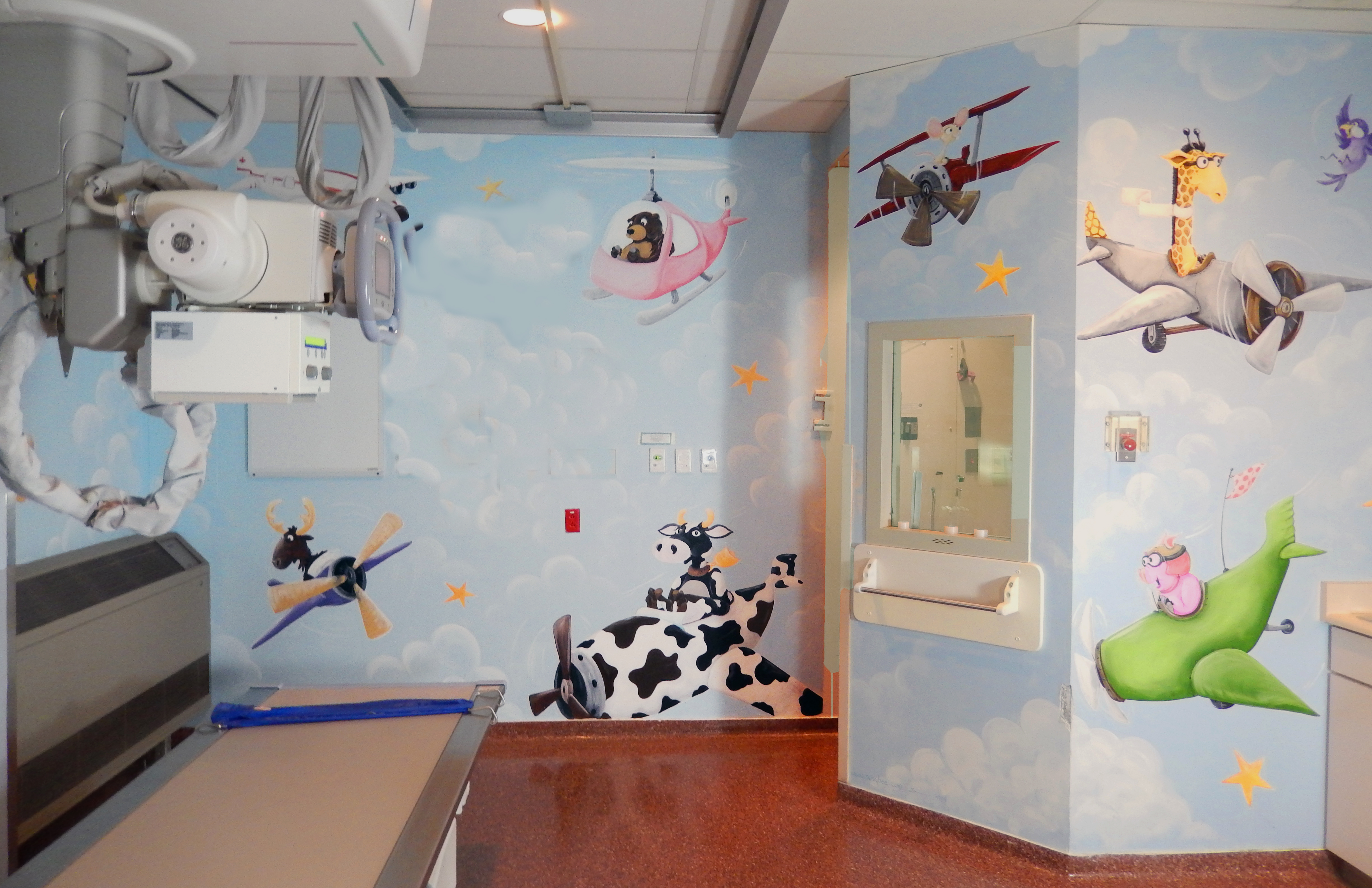 Sick kids x ray room 3 susy bee for X ray room design