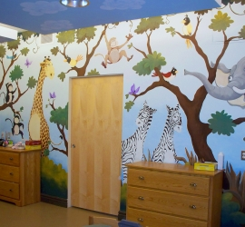 Darling Home Bedroom – Wall 1