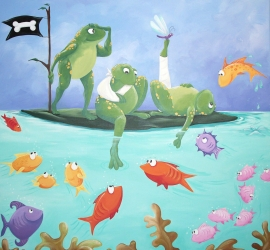 Pirate Frogs – Sick Kids Fracture Clinic