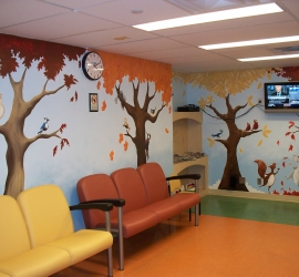 Sick Kids MRI – Waiting Room