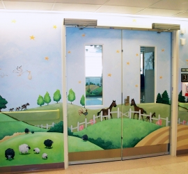 Sick Kids Neonatal – Entry Doors