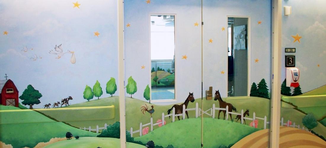 Sick Kids Neonatal – Entry Doors