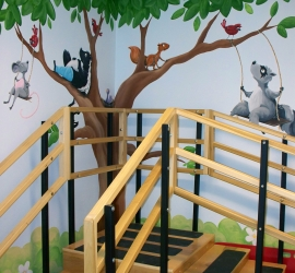 Sick Kids Physio – Stairs Corner