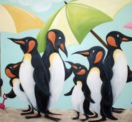 Beach Penguins