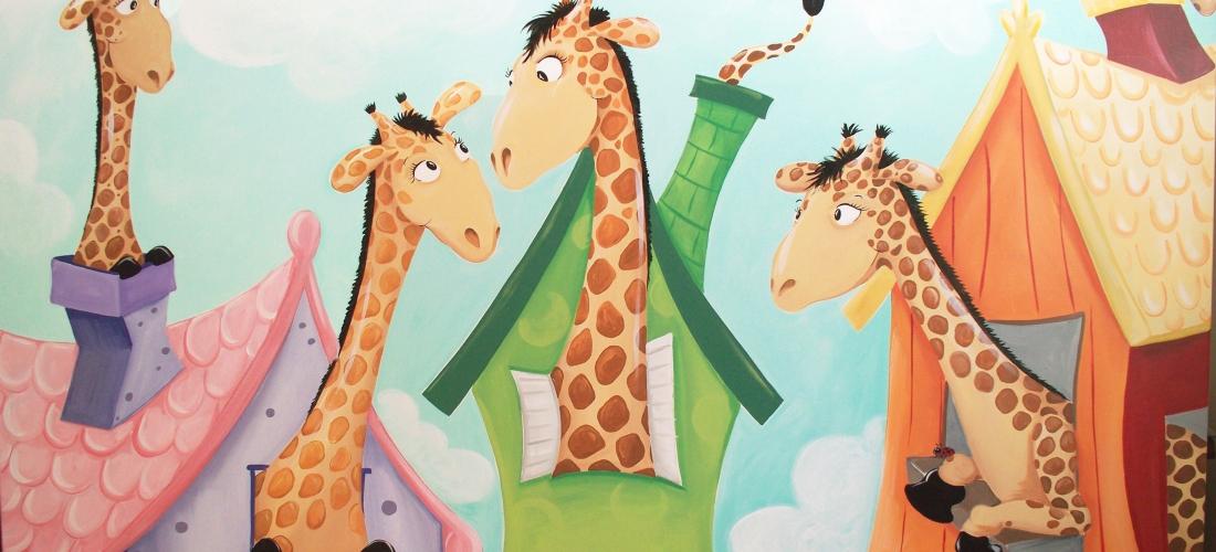 Giraffe Houses