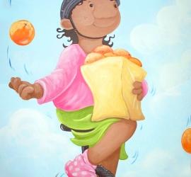 Juggling Oranges