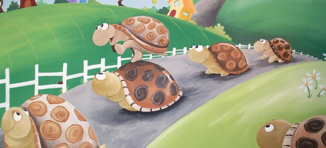 Leapfrog Turtles