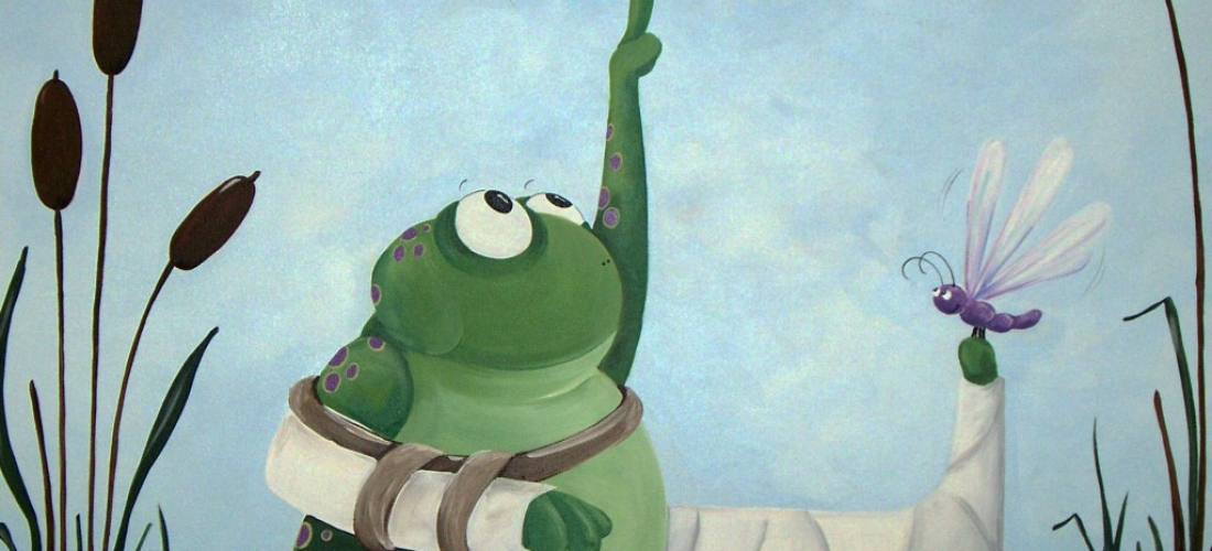 lilypad frog – Sick Kids Fracture Clinic