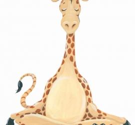 Meditating Giraffe