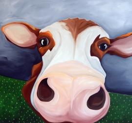 Navy Cow