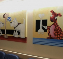 on wall – Sick Kids Fracture Clinic