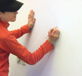 Susy Sketching Mural